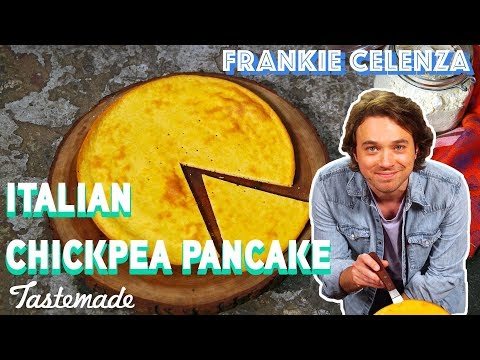 Italian Chickpea Pancake (Farinata) I Frankie Celenza
