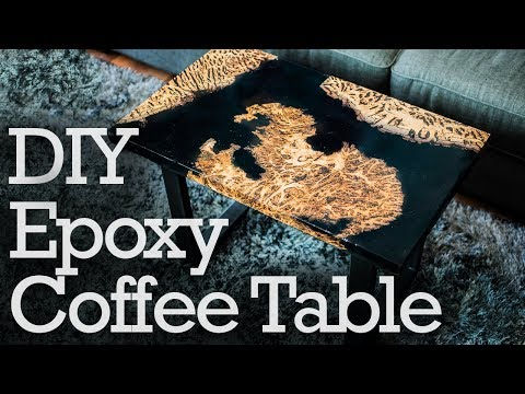DIY Epoxy River Table | How To Make a Live Edge Coffee Table