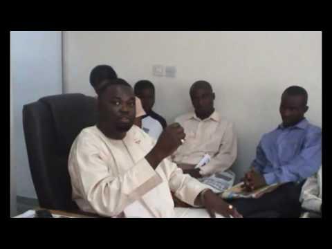 Newton Otohwo – Staff Meeting at Darren Lloyds