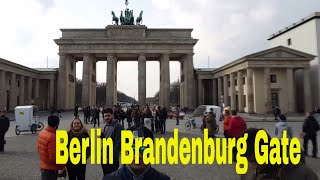 Berlin Visit | Exploring the Famous Brandenburg Gate, Berlin, Germany | Travel Vlogs