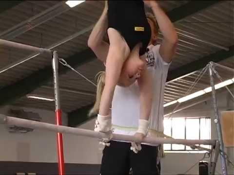 Teen gymnastische Mädchen nackt