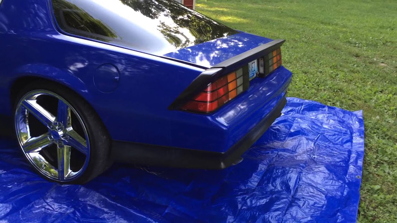 91 camaro blue on irocs youtube 91 camaro blue on irocs youtube