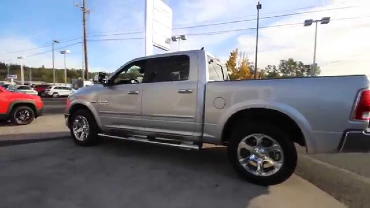 2016 Dodge Ram 1500 Laramie | Bright Silver Metallic | GS153378