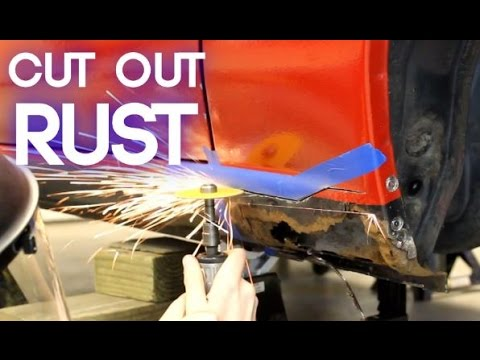 How To Cut Rust Out of a Car