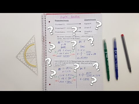 ☺Kapital Berechnen Für Dummies☺ - Zinsrechnung