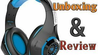 Cosmic Byte GS410 Gaming headphone with mic||Unboxing & Review||