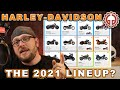 The Harley Davidson 2021 Lineup?