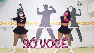 SÓ VOCÊ- Léo Santana, Rogerinho, Kevinho - Nina Maya
