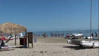 Италия, Римини, море, пляж, DVD, клип