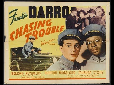 Chasing Trouble 1940  FULL Movie  Frankie Darro, Marjorie Reynolds, Mantan Moreland