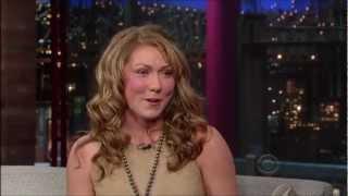 Michaela Shifrin on David Letterman [19 March, 2013]