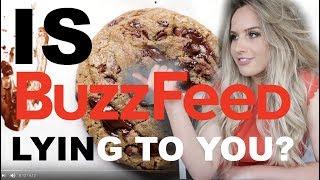 TRYING BUZZFEED TASTY CHOCOLATE CHIP RECEIPE