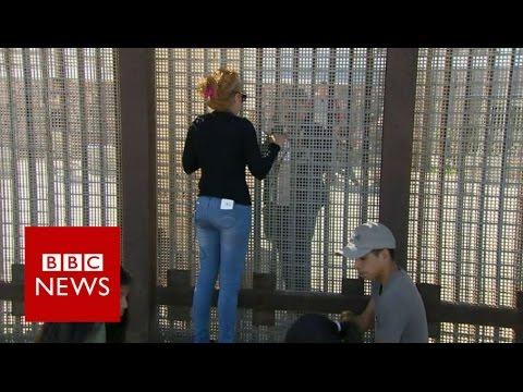 US election 2016: Life on the US-Mexico border - BBC News