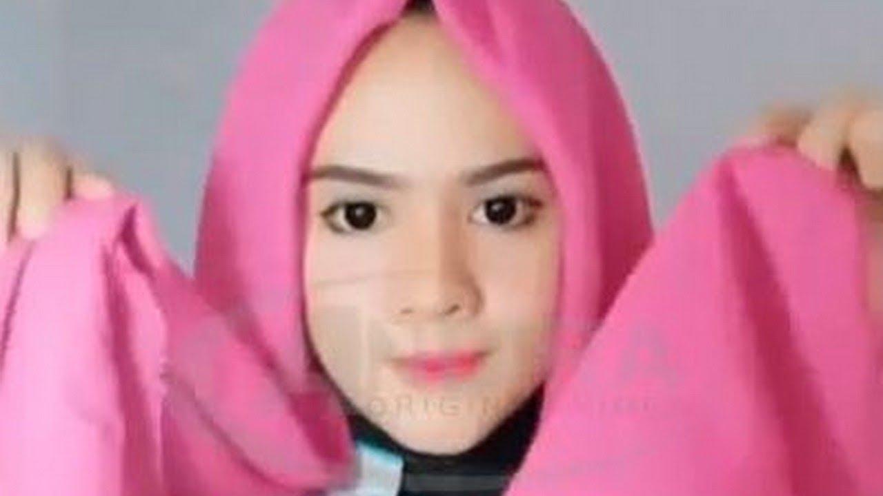 Tutorial Hijab Segi Empat Buat Lebaran 2018
