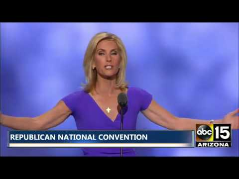 Laura Ingraham brings down the house at Republican National Convention