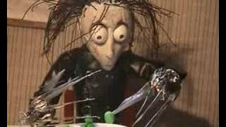 Edward Scissorhands In Claymation !  (MG Productions)