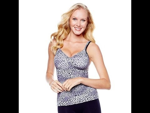 Rhonda Shear Printed Molded Cup Camisole.  http://bit.ly/2ld6mk8