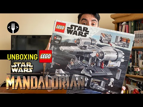 Unboxing Lego Star Wars: The Mandalorian
