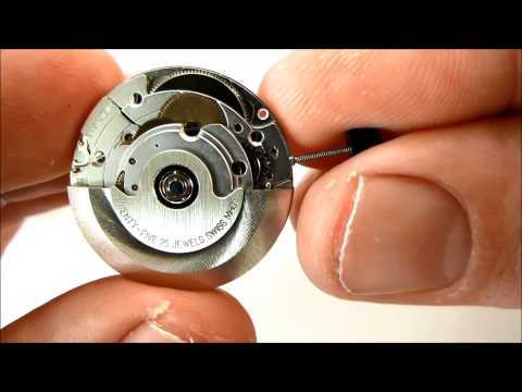 ETA 2824-2 MECHANICAL WATCH MOVEMENT AUTOMATIC WINDING