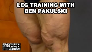 Leg Training Hack Squat With Ben Pakulski
