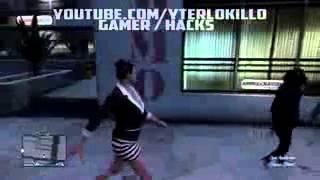 GTA 5 ONLINE   Peatones Animales  MONOS Por Toda la Ciudad   MOD HACK   Grand Theft Auto V   2015