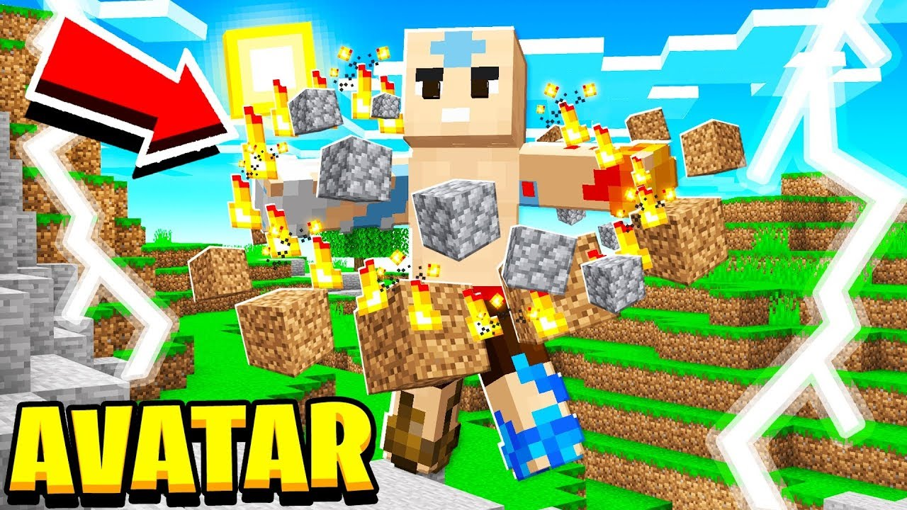 BECOMING the AVATAR in MINECRAFT!