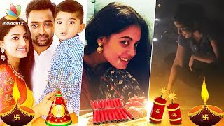 Here's How Prasanna and Sneha Celebrating Diwali 2017 | Bigg Boss's Bindhu Madhavi, Namitha