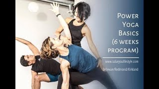 Power Yoga Basics (6 weeks program, unheated) demo @ SolarYou Lifestyle