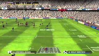 Rugby 08 Gameplay: Scotland vs Wales (6 Nations 2015 Simulation)
