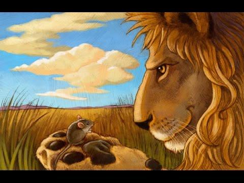 Resultat d'imatges de el lleó i el ratolí