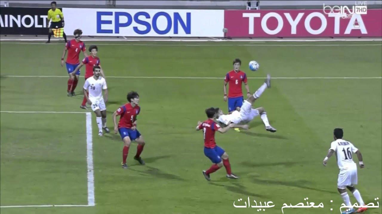 غضب المعلق على عدم احتساب هدف الاردن الملغي امام كوريا (ج)