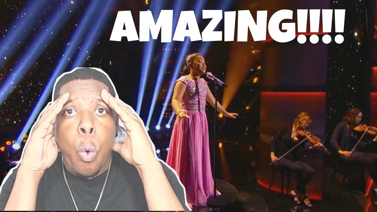 12 Yr old elha nympha chandelier Cover Reaction!!! - YouTube