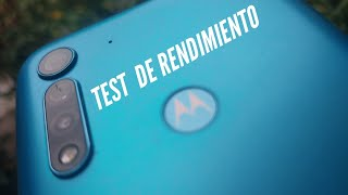 Test de rendimiento | Motorola G8 power Lite