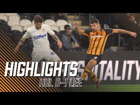 Hull City 0-1 Leeds United | Highlights