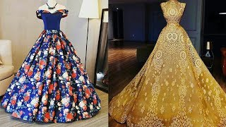 Long Gown Dress | Images of beautiful long gowns | Fancy Gown