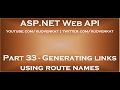 Generating links using route names in asp net web api
