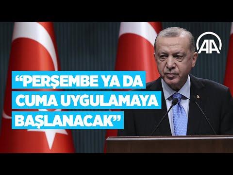 Cumhurbaşkanı Erdoğan'dan Kovid-19 aşısına ilişkin açıklama