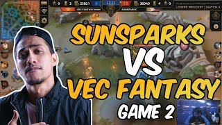 CHAMPION NA BA ? SUNPARKS VS VEC FANTASY MAIN GAME 2