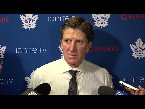 Maple Leafs Post-Game: Mike Babcock - November 3, 2018