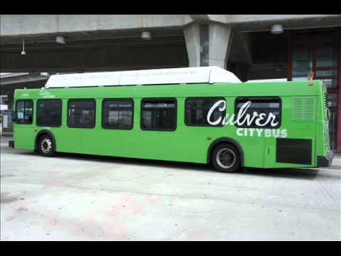 2001 NewFlyer C40LF - Culver City Bus # 7084