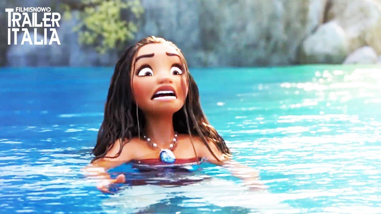 Oceania Nuova Clip L Oceano Insiste Animazione Disney Youtube