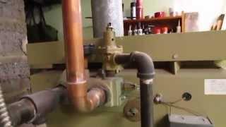 Leaking Boiler Relief Valve Repair