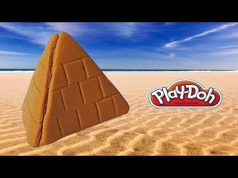 Play Doh Pyramid