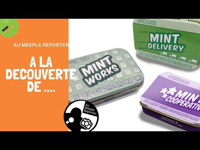 Présentation Mint Delivery, Woorks et Cooperative !