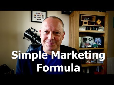 What's The SIMPLEST Marketing Communications Formula?  Problem Agitate Solution
