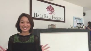 お客様の感想(マイコ様) 一般英語コース(4週間) リゾート地・バリで...