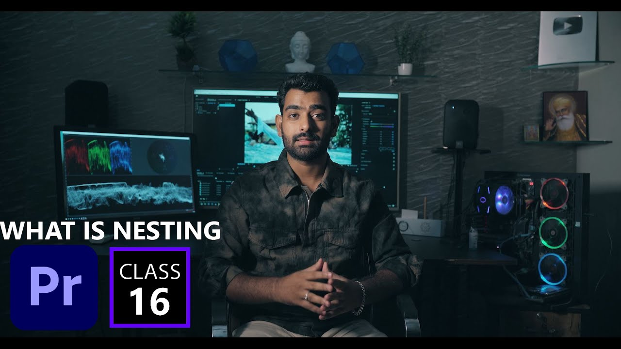WHAT IS NESTING IN PREMIERE PRO CC || FULL TUTORIAL