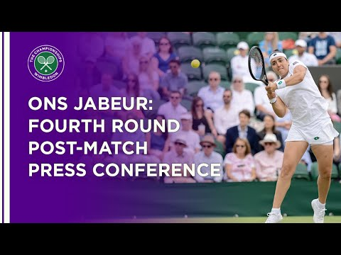 Ons Jabeur Fourth Round Press Conference | Wimbledon 2021