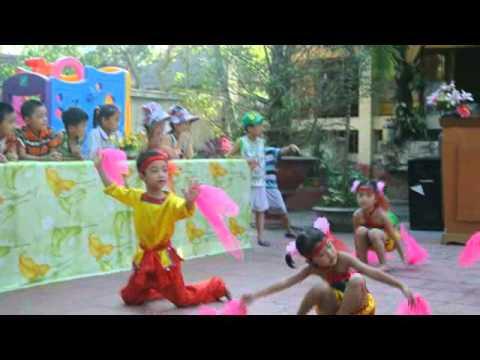 Denh denh dang dang - Lớp 5 tuổi B - Gia Minh & Vàng Anh