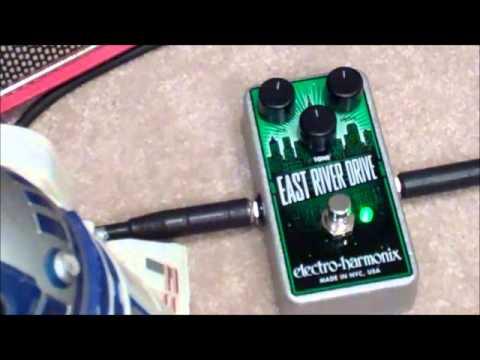 electro harmonix east river drive overdrive pedal youtube. Black Bedroom Furniture Sets. Home Design Ideas
